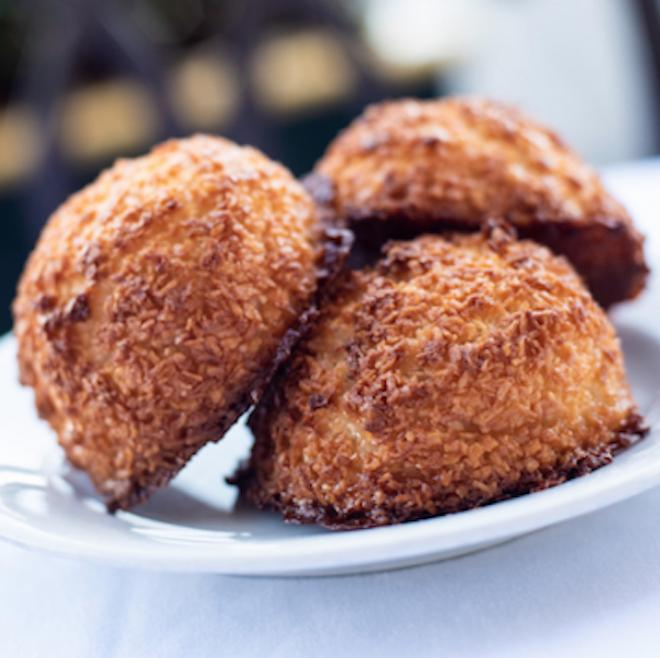 Coconut Macaroons at BoardWalk Bakery in Disney's BoardWalk - PHOTO VIA WALT DISNEY WORLD