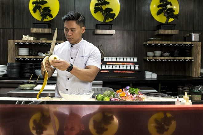 Chef Chau Trinh - ROB BARTLETT