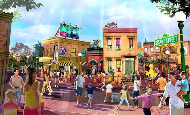 Sesame Street at SeaWorld Orlando - PHOTO VIA SEAWORLD