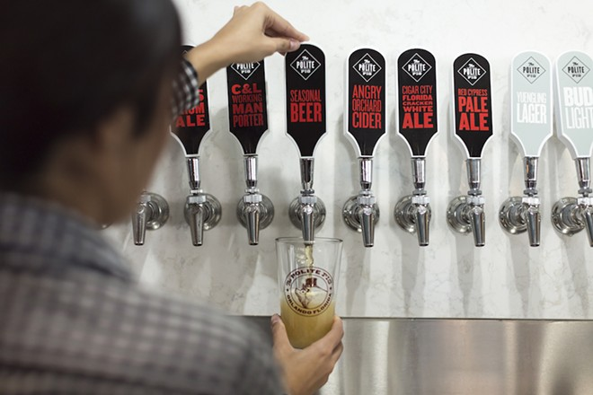 Orlando's theme park watering holes boast brews you won't find in any ordinary bar