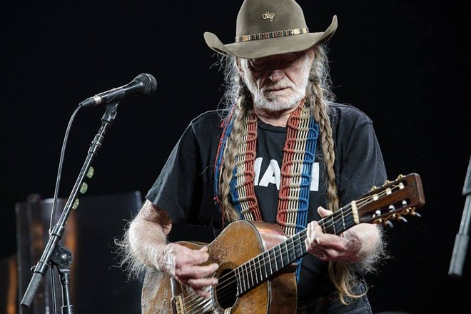 Willie Nelson - PHOTO VIA WILLIE NELSON/FACEBOOK