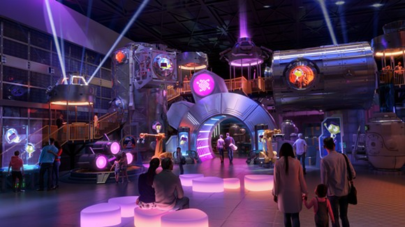 The Technology zone within the Experience PBS attraction