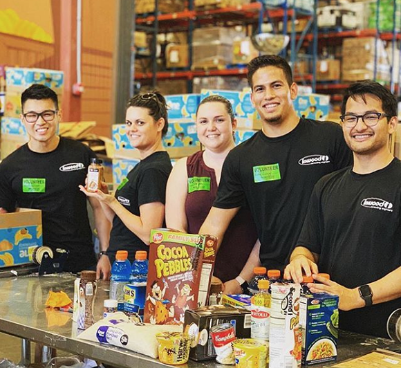 PHOTO VIA SECOND HARVEST FOOD BANK OF CENTRAL FLORIDA/INSTAGRAM
