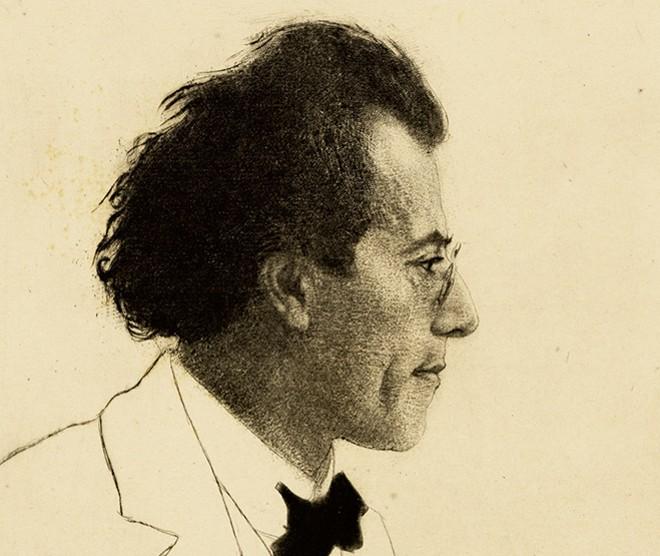Gustav Mahler, 1902 - EMIL ORLIK