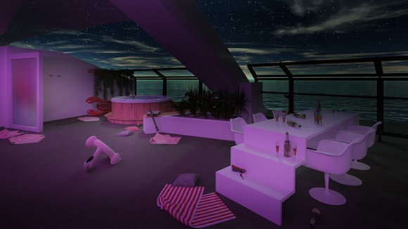 The Massive Suite's balcony - IMAGE VIA VIRGIN VOYAGES