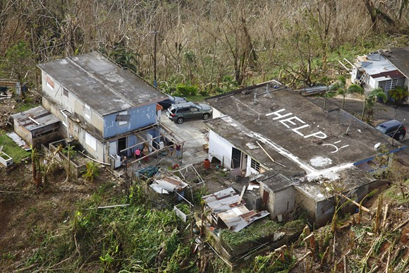 Puerto Rico received less hurricane aid than Florida and