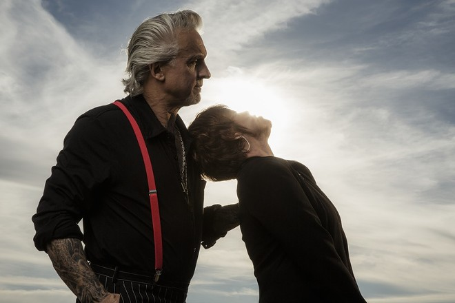 Pat Benatar & Neil Giraldo - PHOTO BY TRAVIS SHINN