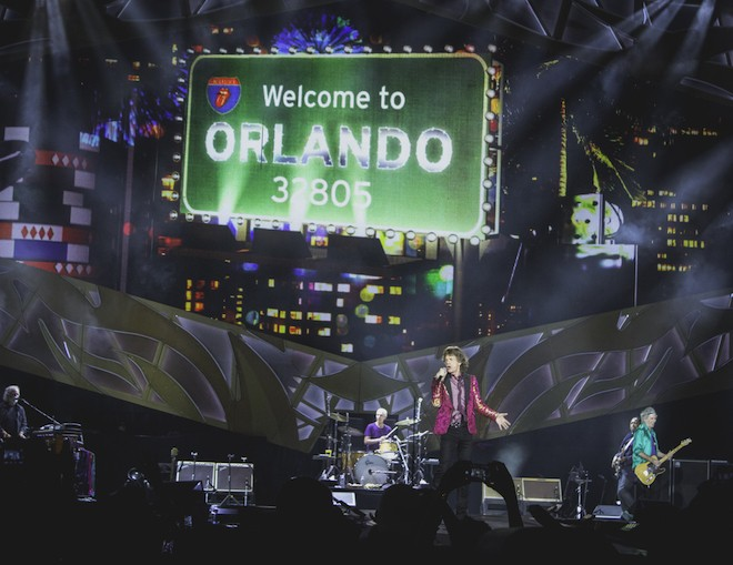 See more: Wildest photos from the Rolling Stones at the Orlando Citrus Bowl - CHRISTOPHER GARCIA