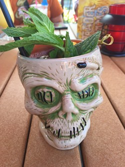 """Raise your glass (or skull) to Tiki culture as Parkeology explores the """"secret history"""" of Disney's Trader Sam's. - PHOTO BY SETH KUBERSKY"""