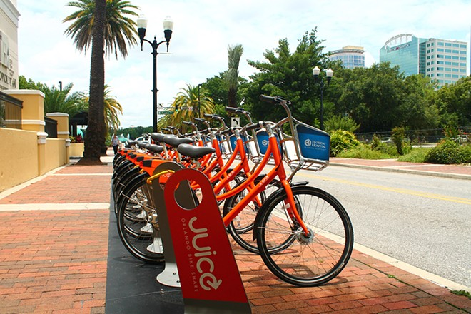 Take advantage of Orlando's bike share program