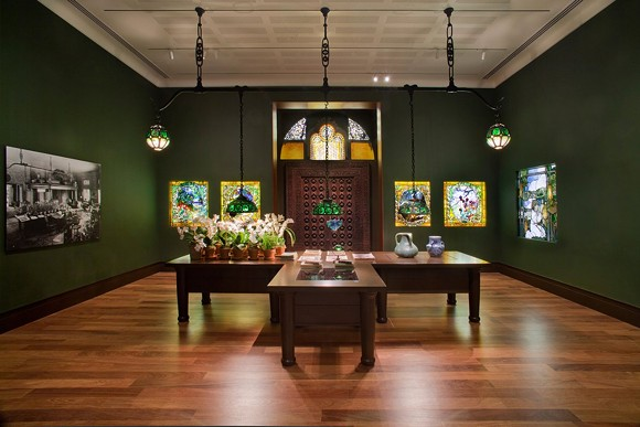 The Morse Museum houses the significant collection of works by Louis Comfort Tiffany