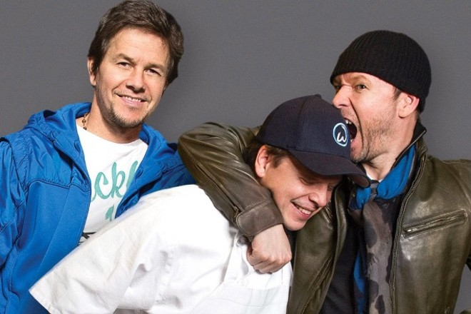 PHOTO OF MARK, PAUL, AND BITEY DONNIE WAHLBERG VIA A&E TV