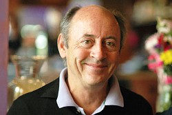 PHOTO OF BILLY COLLINS VIA ROLLINS.EDU