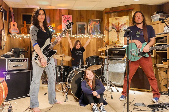All in the family: The Rock N' Roll Hi Fives