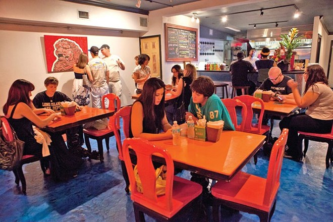 This picture makes the original Tako Cheena look a lot more spacious than it really is. - PHOTO BY ALDRIN CAPULONG