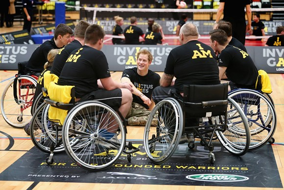 VIA INVICTUS GAMES FACEBOOK PAGE