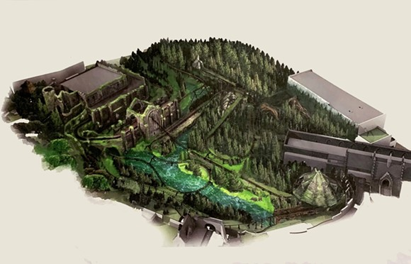 The image of Hagrid's coaster shared with Alicia Stella - GRAPHIC USED WITH PERMISSION VIA ALICIA STELLA/ORLANDO PARK STOP