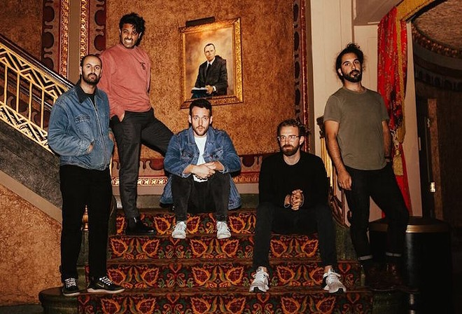 Young the Giant - PHOTO BY MATT BENTON VIA YOUNG THE GIANT/FACEBOOK