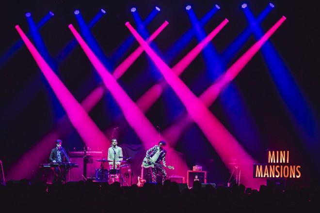 Mini Mansions at Hard Rock Live - JAMES DECHERT
