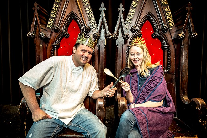 We want to feed you, travelers! - PHOTO FROM BEST OF ORLANDO 2015 BY ROB BARTLETT