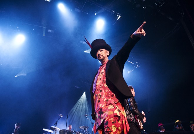Culture Club at Hard Rock Live - DARIN BACK