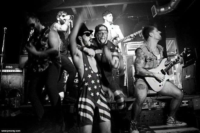 American Party Machine at Will's Pub - JEN CRAY