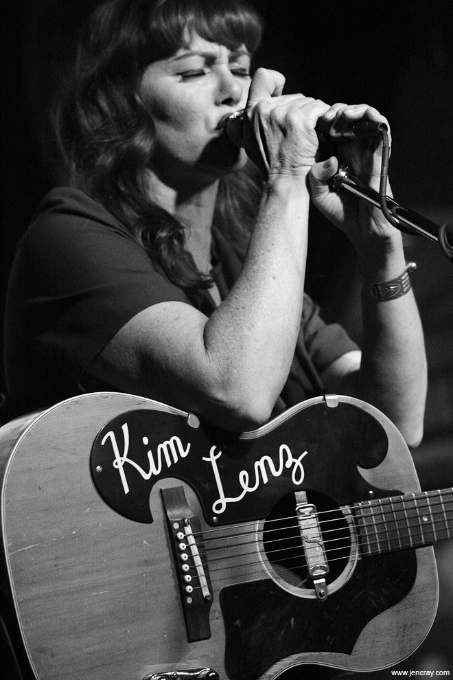 Kim Lenz at Will's Pub - JEN CRAY