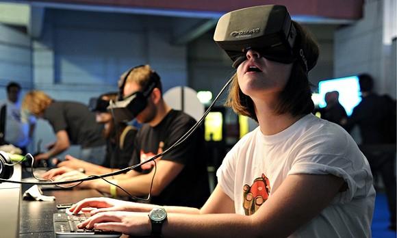 An Oculus Rift headset - PHOTO VIA THE GUARDIAN
