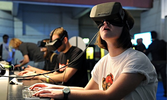 An Oculus Rift headset - PHOTO VIA THE GUARDIAN