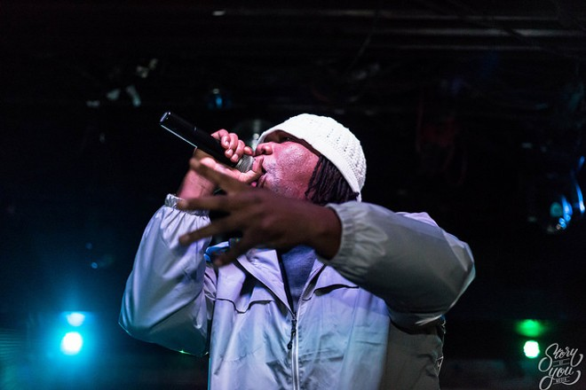 KRS-One at Backbooth - STORY OF YOU MEDIA