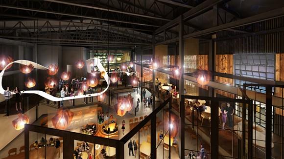 artist's rendering of the interior of Morimoto Asia - VIA WALT DISNEY WORLD