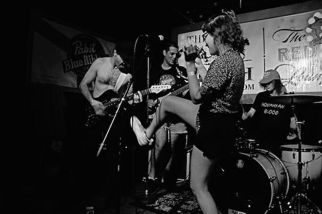 AJ Davila y Terror Amor at Will's Pub 20th anniversary - JIM LEATHERMAN