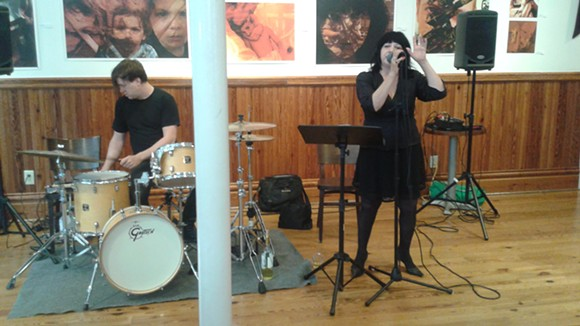 Lydia Lunch and Weasel Walter at the Gallery at Avalon Island