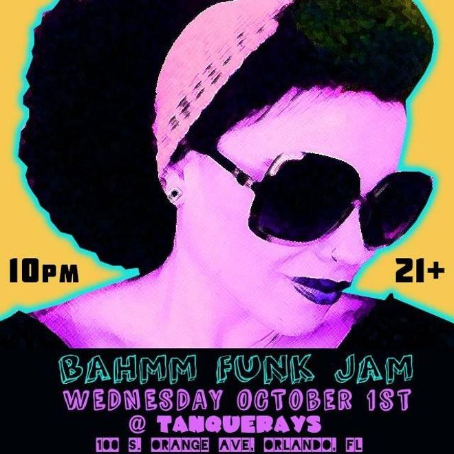 BAHMM Funk Jam - BAHMM FUNK JAM POSTER VIA FACEBOOK