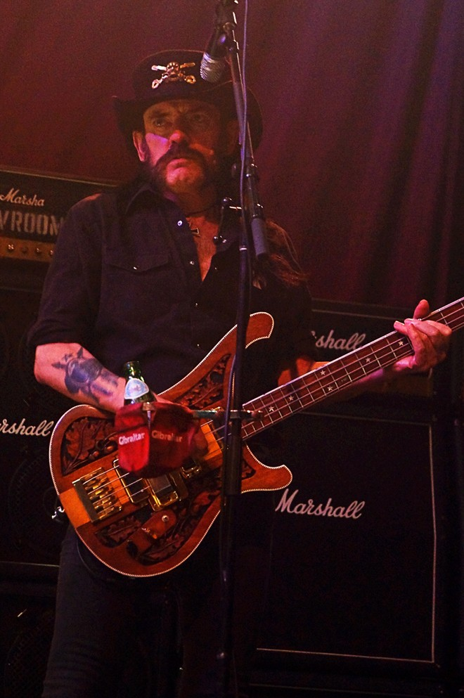 Motörhead at House of Blues - JIM LEATHERMAN