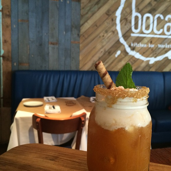 Boca Kitchen and Bar's Pumpkin Pie - PHOTO BY LINDSEY THOMPSON