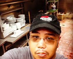 @nova_orlando: Chef Val getting ready to inventory kitchen equipment #novaorlando #chefslife #buildout #construction #ivanhood #whatfoodnetworkdoesntshowyou @chefvaldomingo - PHOTO VIA NOVA ON INSTAGRAM