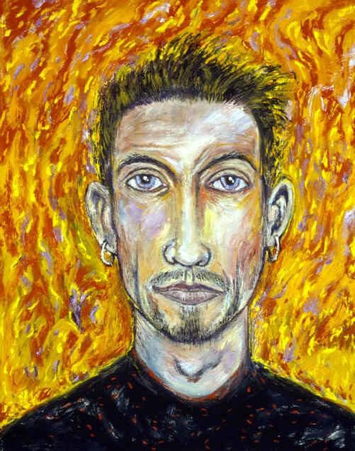 Self Portrait, via Deviant Art - CLIVE BARKER