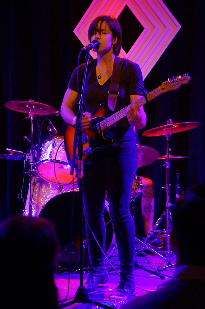 Laura Stevenson at the Social - JIM LEATHERMAN