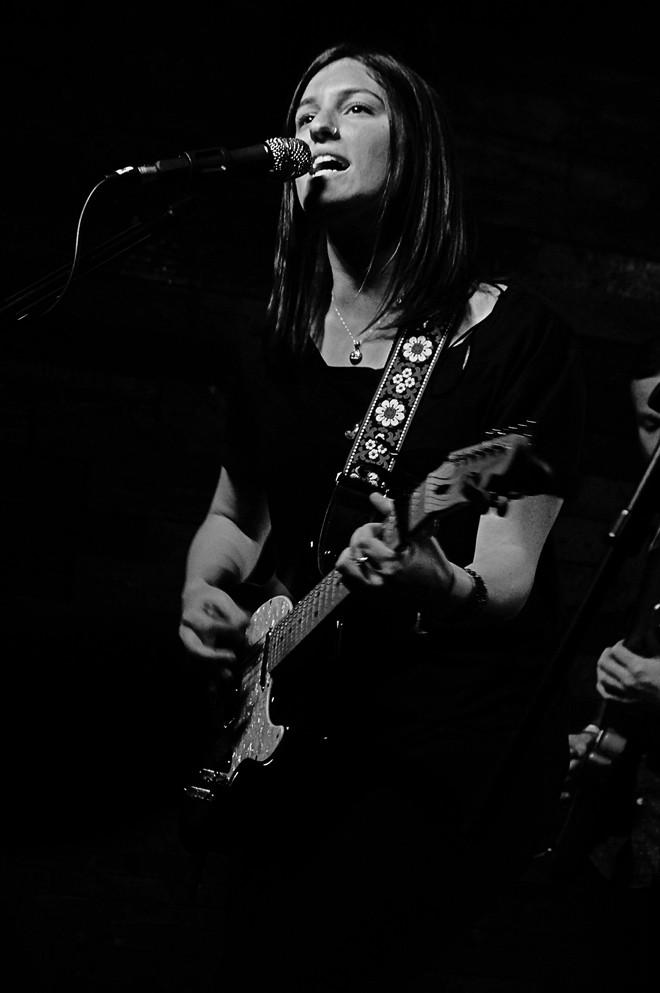 Emily Kopp at Backbooth - JIM LEATHERMAN
