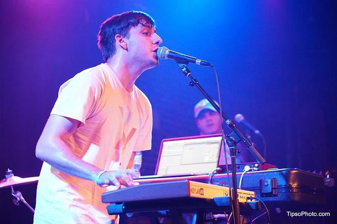 Skylar Spence at the Social - MICHAEL LOTHROP
