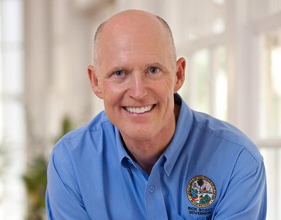 PHOTO VIA RICK SCOTT FACEBOOK PAGE