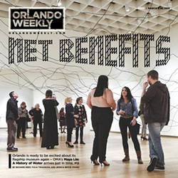 Orlando Weekly's 2015 cover story on the Maya Lin exhibition