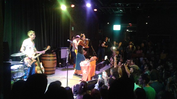 Aterciopelados at the Social