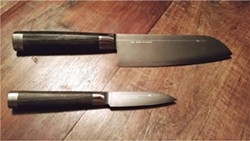 Knives by Michel Bras and Kai