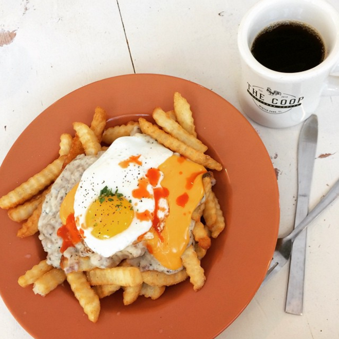 Southern poutine, the Coop - PHOTO BY JESSICA BRYCE YOUNG