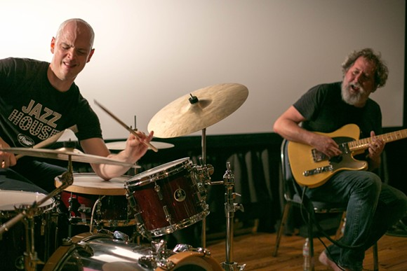Chris Corsano & Bill Orcutt at the Gallery at Avalon Island - LIV JONES