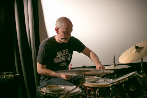 Chris Corsano at the Gallery at Avalon Island - LIV JONES
