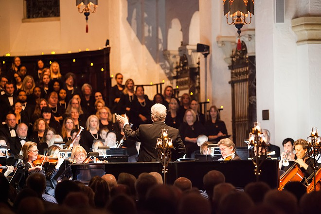 BACH FESTIVAL SOCIETY'S CONCERTOS BY CANDLELIGHT (KAREN LESLIE PHOTOGRAPHY)