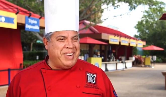 Chef Héctor Colón - PHOTO VIA SEAWORLD ORLANDO